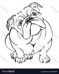 Resultado de imagen para bulldog + vector