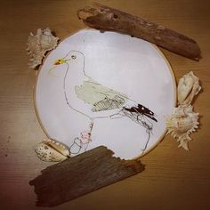 You will soon be able to buy original artworks from my etsy shop! Watch has this space! Working on photos for my new embroidery hoop collection! http://ift.tt/2fcrFO5 #bristolartist #textileartist #embroidery #embroideryhoops #bird #seagull #seaside