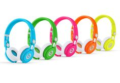 Beats by Dre Mixr Wired DJ Headphones (Refurbished A-Grade) Beats By Dre, Cheap Beats, Best Headphones, Skullcandy Headphones, Sports Headphones, Neon Colors, Bright Colors, Hiphop, Cool Stuff