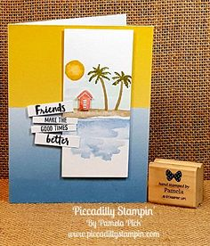 Piccadilly Stampin': Waterfront