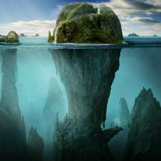 The Sunken Village by *chrigi76 Digital Art / Photomanipulation / Landscapes & Scenery	©2010-2011 *chrigi76