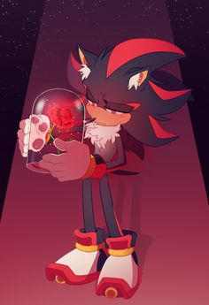A rose for Shadow by TheMonstersBride.deviantart.com on @DeviantArt