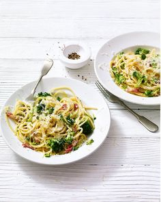 Ready in just 20 minutes, this midweek spaghetti dish is perfect for when your'e short of time but  don't want compromise on flavour.