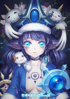 Winter-Wonder-Lulu-Poro-by-destincelly-HD-Wallpaper-Fan-Art-Artwork-League-of-Legends-lol-600x848.jpg (600×848)