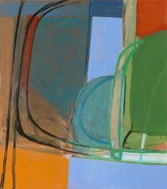 Amy Sillman Mother, 2009 oil on canvas, 51 x 45″ via Sikkema Jenkins Co