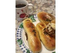 蜜香芋頭豆沙麵包