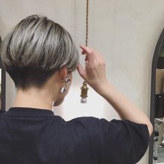 Short Wedge Hairstyles, Tomboy Hairstyles, Undercut Hairstyles, Pixie Hairstyles, Short Hair Tomboy, Short Thin Hair, Short Hair Cuts, Short Pixie, Pixie Cut