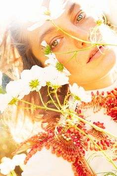 earth angel: daria werbowy by ryan mcginley for w january 2013 | visual optimism; fashion editorials, shows, campaigns & more!