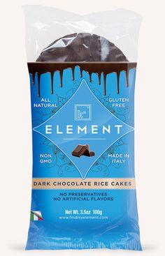 Element Brand Snacks Dark Chocolate Rice