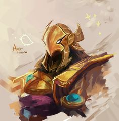 Azir by Fiveonthe on DeviantArt