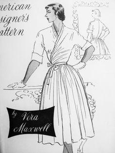 25 best dream patterns american designer s patterns images retro Shoes to Wear with Dirndl spadea 1014 1950s vera maxwell misses dress vintage fabrics vintage