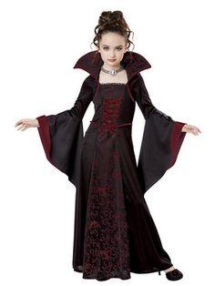 Girls Royal Vampire Costume                              …