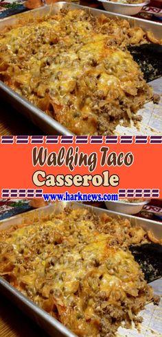 Walking Taco Casserole | Traci Kitchen #tacocasserole #casserole #casserolerecipes #dinnerideas