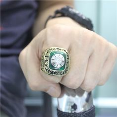Custom 1969 Boston Celtics Basketball World Championship Ring - Basketball