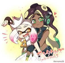 Resultado de imagen para splatoon pearl and marina meme