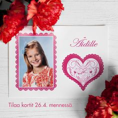 Asuuko isoäiti toisella paikkakunnalla? Muista tilata onnittelukortti ajoissa. | www.kuvaverkko.fi | #kortti #onnittelukortti #kuvatuote #äitienpäiväkortti #äitienpäivä #äiti