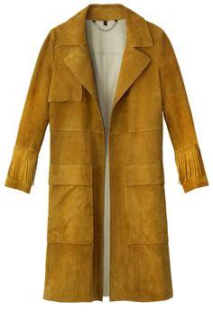 Belstaff coat, $3,895, 212-897-1880.   - HarpersBAZAAR.com