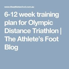 week training plan for Olympic Distance Triathlon Olympic Triathlon Training Plan, Race Training, Triathalon, Bike Run, Best Self, Physical Activities, Just Do It, Olympics, Health And Wellness