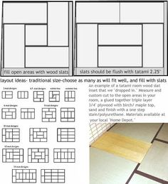 Tatami Mat Information Guide
