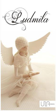 angel tilda handmade www.facebook.com/ula.design #angels #tilda #doll #wings #withangels #gift #handmade #sewing