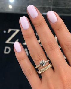 Image about pink in Nails / Nail Polish / Vernis / Manicure by Mouna DramaQueen Nail Manicure, Gel Nails, Nail Polish, Cute Nails, Pretty Nails, Milky Nails, Spring Nail Art, Finger, Bridal Nails
