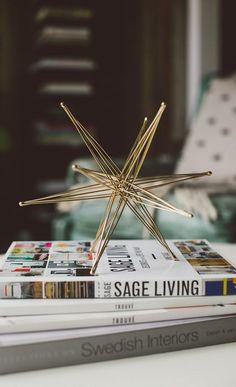 Trend Alert Deco: decoración golden wire #tendencias #decoracion #trendalert #trendalertdeco