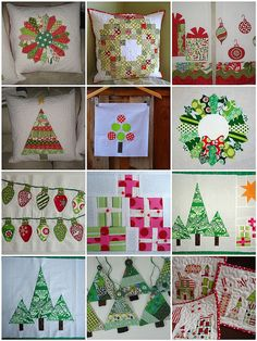 Christmas quilt inspiration by ::amylouwho, via Flickr