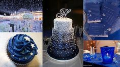 starry night wedding/party ideas