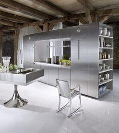 wow modern!. Kitchens by Philippe Starck for German kitchen manufacturer Miele DIE KÜCHE