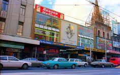 Port Phillip Arcade, Melbourne, Australia, 1985, photograph by Graeme Butler.