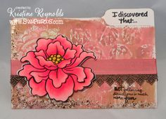 Stamping & Scrapping in California: I discovered that...