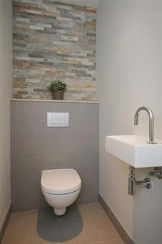 Dreamy WC/Toilet Ideas in the Bathroom with Full Inspirations 40 + verträumte WC / Toilette Ideen im Badezimmer mit voller Inspiration – – Small Toilet Room, Guest Toilet, Bathroom Design Small, Bathroom Interior Design, Bathroom Designs, Cloakroom Toilet Downstairs Loo, Small Wc Ideas Downstairs Loo, Wc Design, Design Ideas