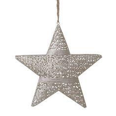 Závesná dekorácia v tvare hviezdy InArt Xmas