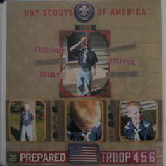 Noah - Boy Scouts - Scrapbook.com