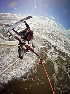 Andrew Kruszynski: April 2012 -  water kite surfing