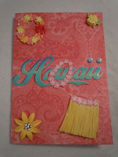 Aloha Hawaii Passport Cover by PassportCoverSkyGirl on Etsy, $5.00