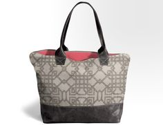 Custom Bogatta Bag, you choose fabric, leather and monogram thread color and style