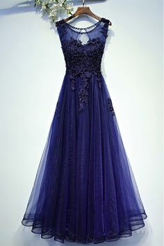 Dark Purple Red Evening Dress 2017 Lace Bead Evening Prom Dresses Gown Floor Length vestido longo Tulle Party Dress On Sale Dresses Short, Cheap Prom Dresses, Prom Party Dresses, Modest Dresses, Pretty Dresses, Beautiful Dresses, Formal Dresses, Dress Long, Formal Prom
