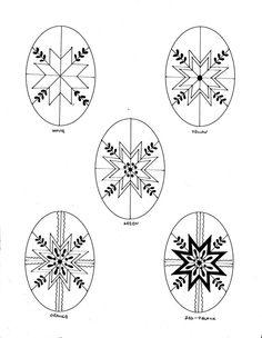 Teaching Pysankarstvo: Pattern Sheets