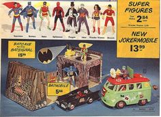 The Epic Mego Action Figure Playsets Of The 1970s - Neatorama