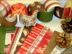 Christmas cottage paper chain