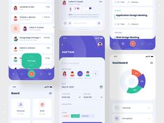 Taskito - Task Management App by Mahmudul Hasan Manik Web Design, App Ui Design, Interface Design, Site Design, Flat Design, To Do App, Design Responsive, Application Design, Layout