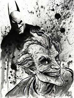 Joker: Batman Arkham City Art Print