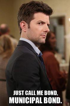 I love Ben Wyatt!