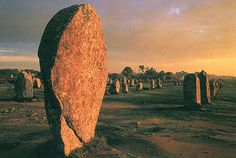 Ménec alignments, Carnac, Brittany, France