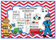 Community+Helpers+Printable+and+Alphabet+Cards+from+Preschool+Printables+on+TeachersNotebook.com+-++(45+pages)++-+Printable:+The+activities+in+this+pack+are+designed+to+have+fun+while+the+child+learns+a+variety+of+preschool+concepts+including+number,+color,+patterns,+sequence,+size,+letters+and+more.