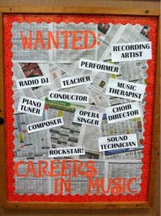 OA-BCIG Middle School Music: Bulletin Boards Galore!