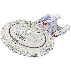 Star Trek All Good Things U.S.S. Enterprise-D Ship