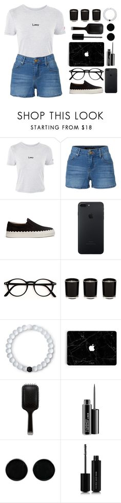 """""""lewis watson // why don't we turn the leaf?"""" by savedmemories ❤ liked on Polyvore featuring Topshop, LE3NO, Chloé, Lokai, GHD, MAC Cosmetics, AeraVida, Marc Jacobs, music and Lover"""