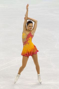 Sarah Meier Photos - Figure Skating - Day 14 - Zimbio